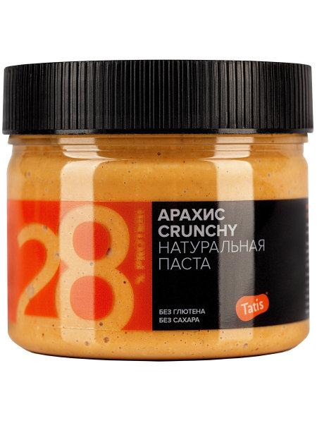 Tatis Арахисовая паста , Crunch .хрустящая  ,300 гр
