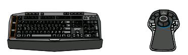 Клавиатура и 3D джостик в комплекте.VX ENH KBD 3D MOUSE COMBO
