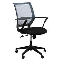 Кресло №D1-186BB черно-серое, фото 1