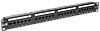 ITK PP24-1UC5EU-D05L ITK 1U патч-панель кат. 5е UTP 24 пт. Dual IDC слайд лейбл