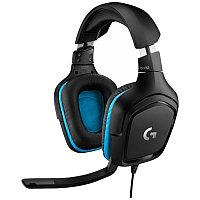 Гарнитура игровая Logitech G432 Gaming Headset Leatherette 981-000770 (Black), фото 1