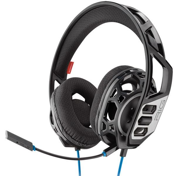 Наушники-гарнитура игровые Plantronics RIG 300 HS (Black)