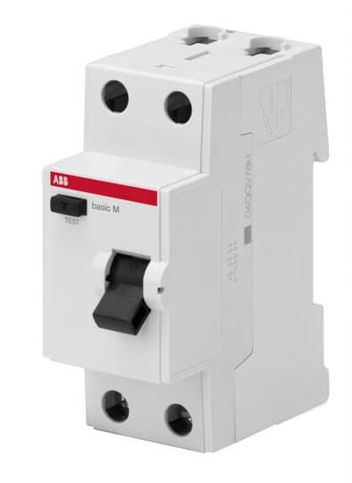 2CSF602042R2250 Выключатель дифференциального тока 2P 25A 100мA AC BMF42225