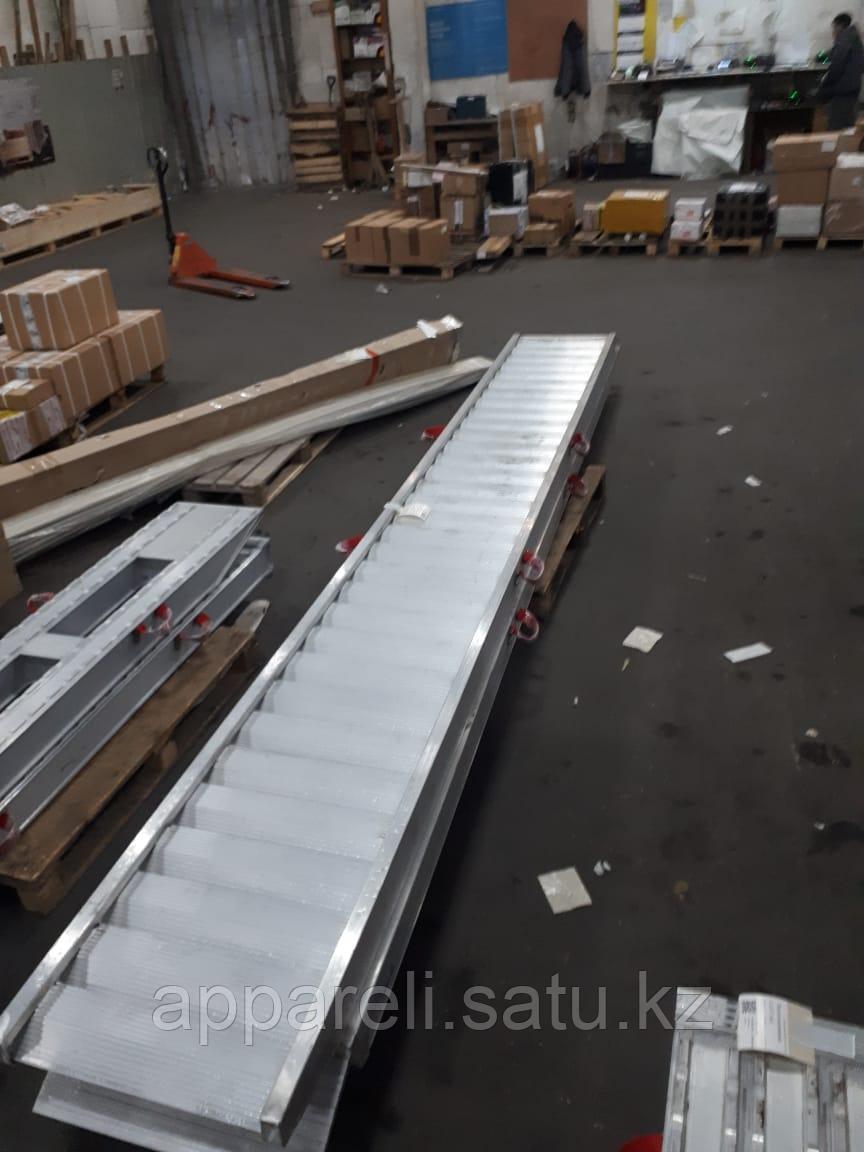 Рампы алюминиевые для спецтехники и полуприцепов 5 метров