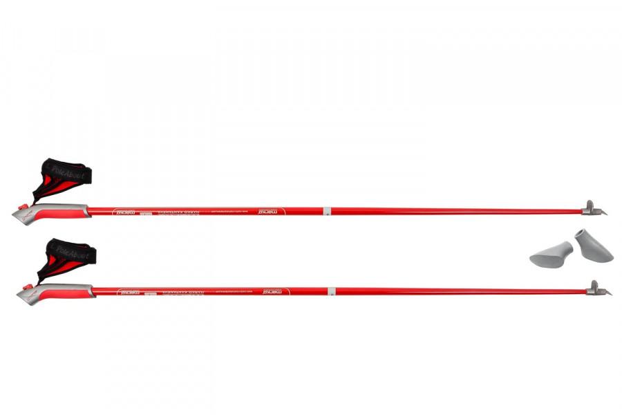 Карбоновые палки для скандинавской ходьбы MARKO KANTANEVA, карбон 60% 120 см
