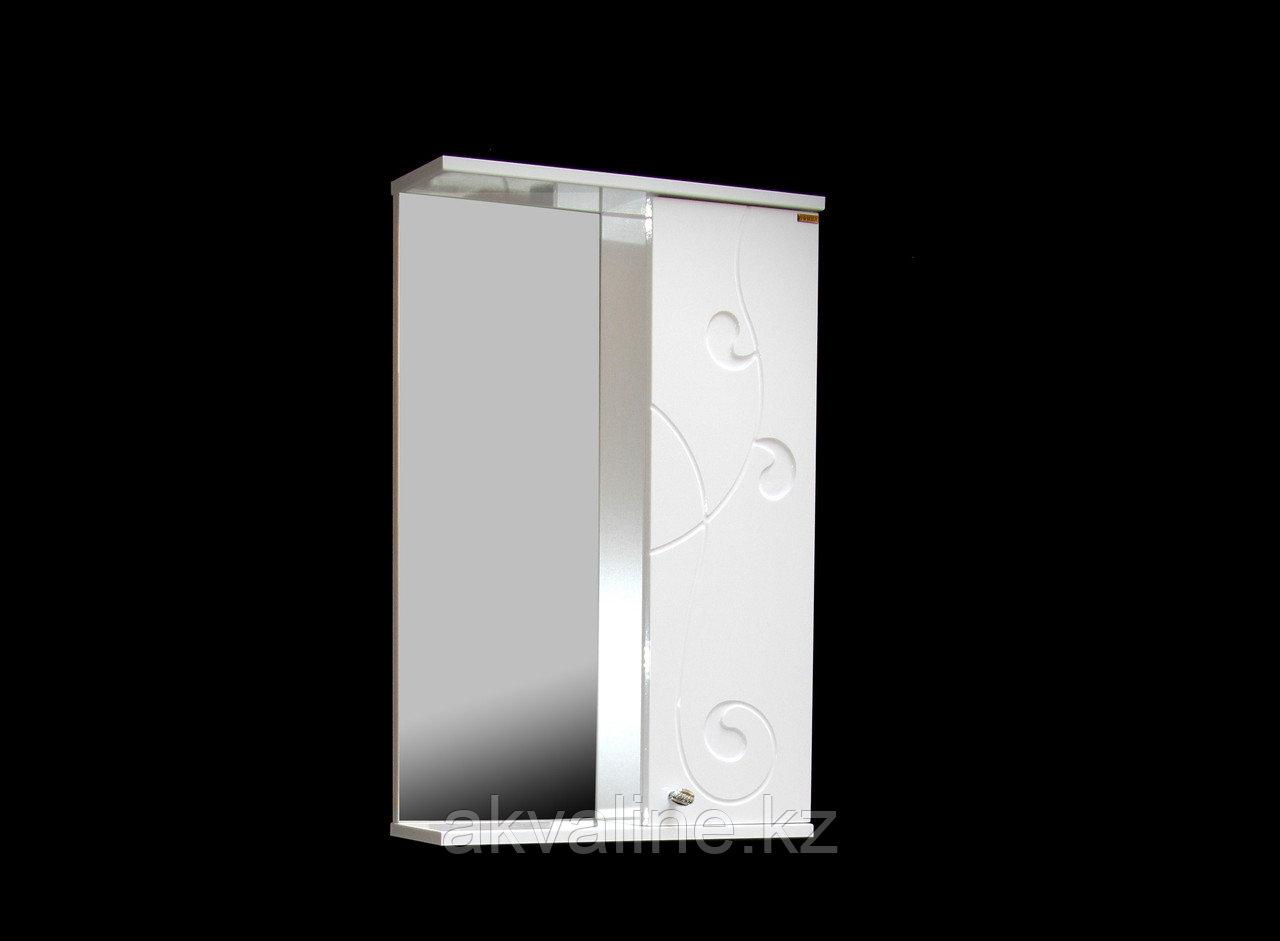 Зеркало-Шкаф Галисия 500, белая