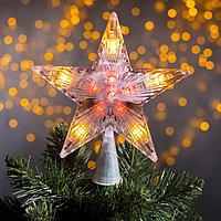 """Фигура """"Звезда белая ёлочная"""" 17Х17 см, пластик, 20 LED, 240V МУЛЬТИ"""
