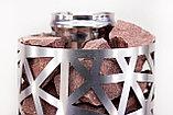 Сетка-каменка №2 (Лёд) — d-350 — h-750 мм — нерж 1,5 мм AISI 430, фото 3