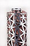 Сетка-каменка №2 (Лёд) — d-350 — h-750 мм — нерж 1,5 мм AISI 430, фото 4