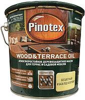 Масло Pinotex Wood&Terrace Oil Бесцветный (также база под колеровку) 2.7