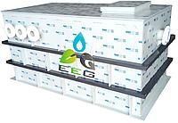 Горизонтальные емкости, резервуары для жидкостей из полипропилена