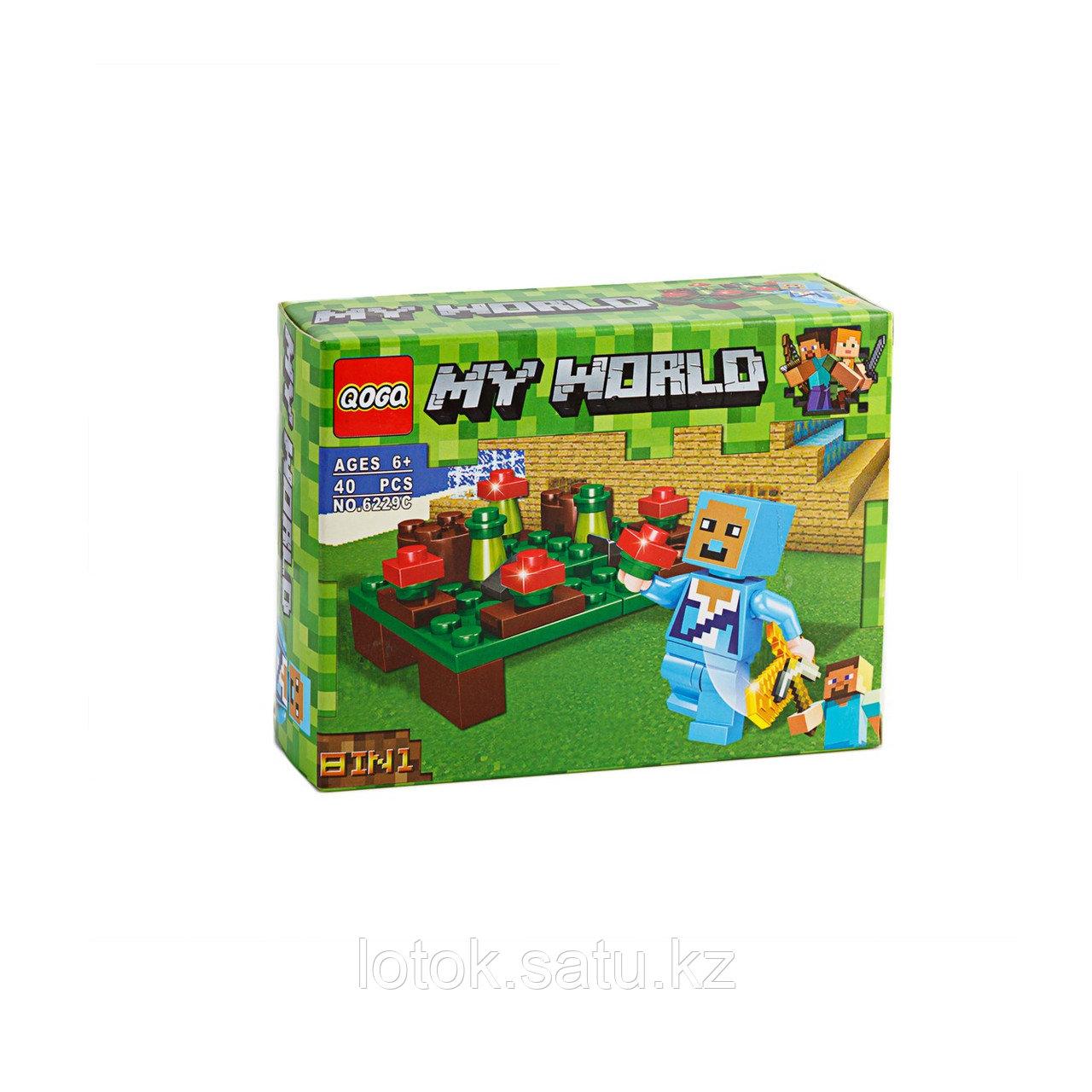 Конструктор My World (Minecraft) 6229А 36 деталей - фото 3