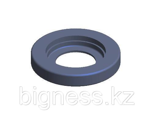Амортизатор 12455-Н (168.20.007) (кольцо резиновое 3716-Н)