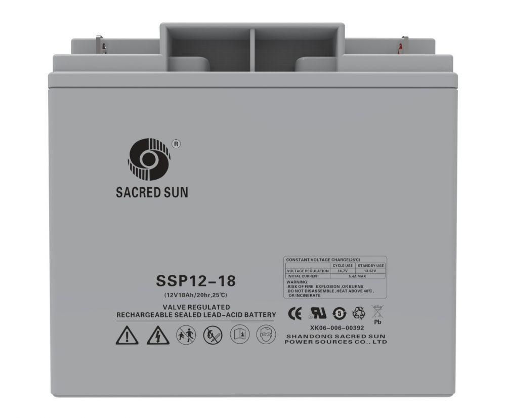 Аккумулятор Sacred Sun SSP12-18(12В, 18Ач)