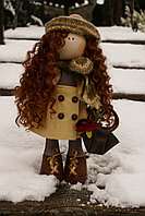 Кукла авторская текстильная, фото 1