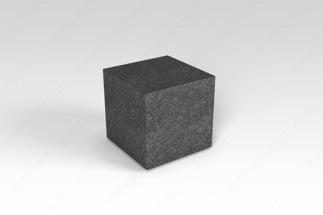"Декоративная фигура ""Flox"" Куб черный гранит 385х385х390мм"