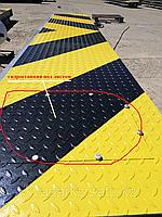 Дорожный блокиратор со встроенной гидростанцией, врезной, защитное покрытие -цинкосодержащие
