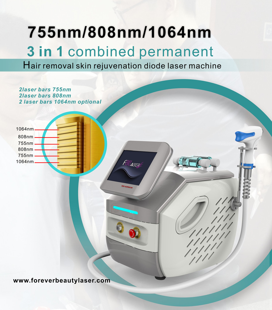 755nm+808nm+1064nm Diode Laser