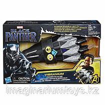 Черная пантера перчатка с когтями на руку со звуком и подсветкой