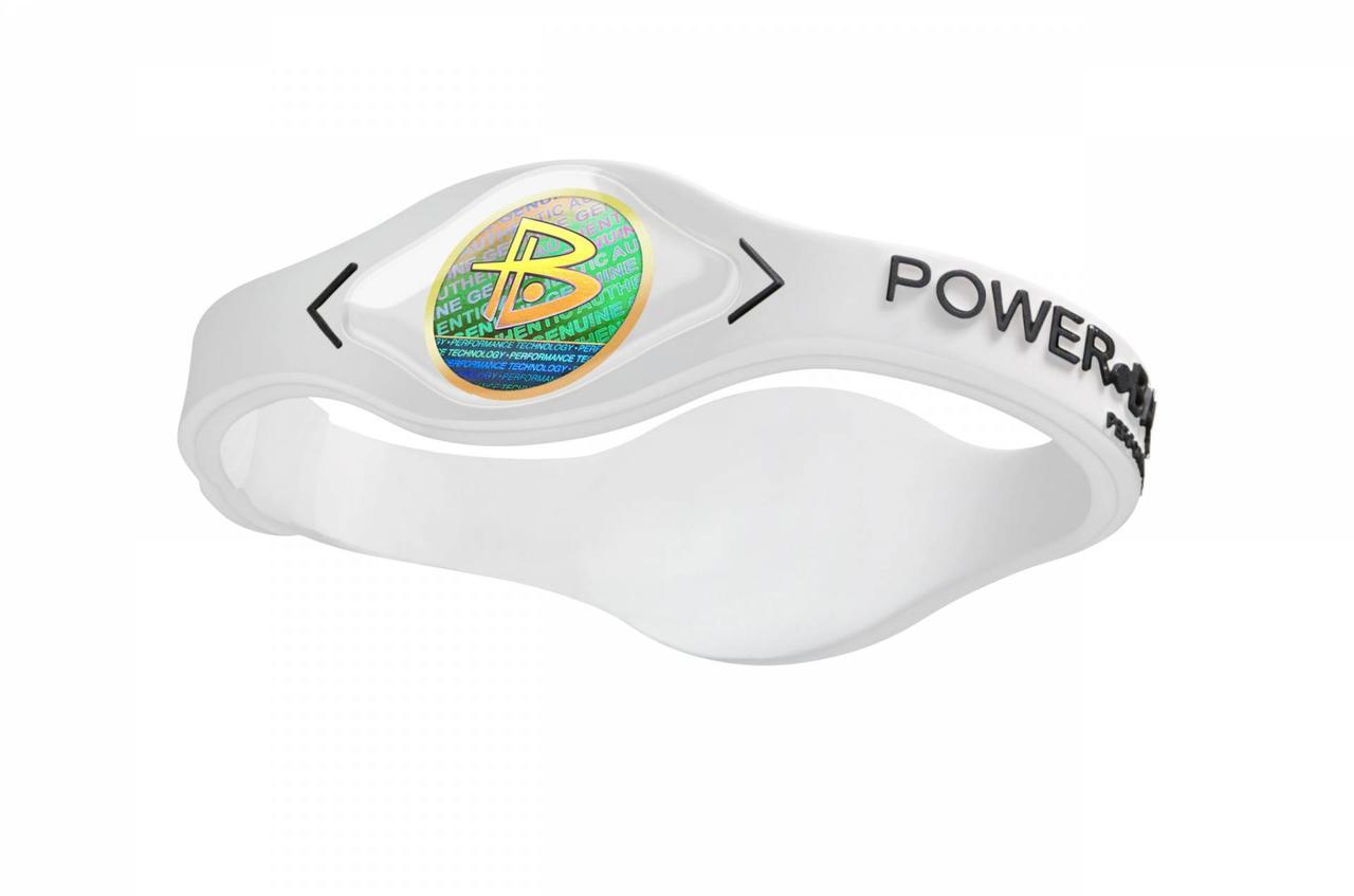 Браслет магнитный Power Balance, цвет белый, размер M