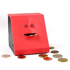 Копилка жующая монетки Face Bank, фото 3