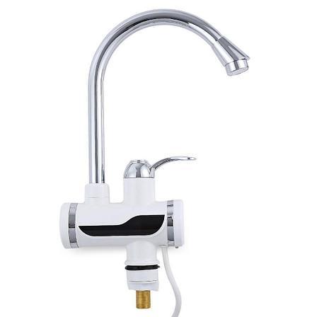 Проточный цифровой мгновенный кран водонагреватель, фото 2
