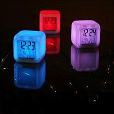 Часы-ночник Color Changing Clock (меняют цвет), фото 3