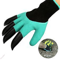 Садовые перчатки Garden Genie Gloves с когтями, фото 3