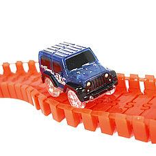 Детская игрушечная дорога Magic Tracks 165 деталей + машинка, фото 3