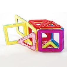 Детский магнитный конструктор 44 предмета, фото 3