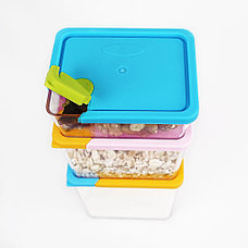 Набор контейнеров для сыпучих продуктов 6 шт, фото 3