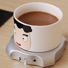 Подставка под чашку с подогревом от USB, фото 2