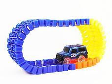 Детская игрушечная дорога Magic Tracks 360 деталей + 2 машинки Mega Set, фото 3
