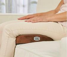 Вибромассажер-грелка для ног 2-в-1 с застежкой, фото 3