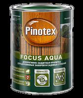 Пропитка Pinotex Focus Aqua для деревянных заборов и садовых строений