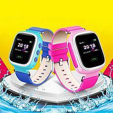 Детские смарт-часы Q60 1.0, цвет голубой, фото 3