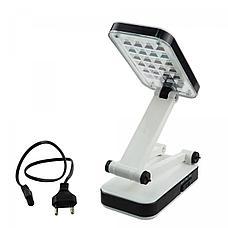 Настольная лампа трансформер 24 LED с аккумулятором, фото 2