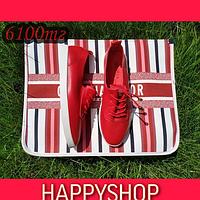 Женские красные ботинки 35-39 размер
