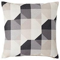 Чехол на подушку,СВАРТХО бежевый, 50x50 см ИКЕА, IKEA, фото 1