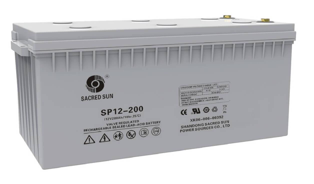 Аккумулятор Sacred Sun SP12-200(12В, 200Ач)