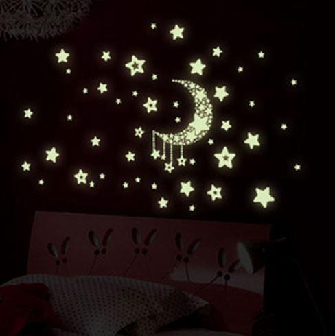 """Наклейка настенная светящаяся """"Звездное небо"""""""