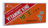 + Препарат для повышения иммунитета VITAMINS KING (Царь Витамин) эликсир Вэй Ван