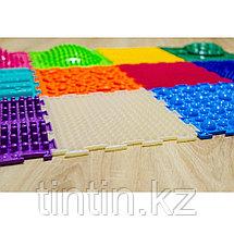 Модульный массажный коврик ОРТОДОН,  набор Ассорти из 12 модулей. Для детей от 3 лет, фото 3