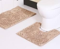 Нескользящий коврик для ванной комнаты микрофибра 60*90