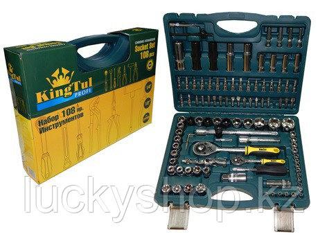 KINGTUL  Набор  инструментов 108 предметов, фото 2