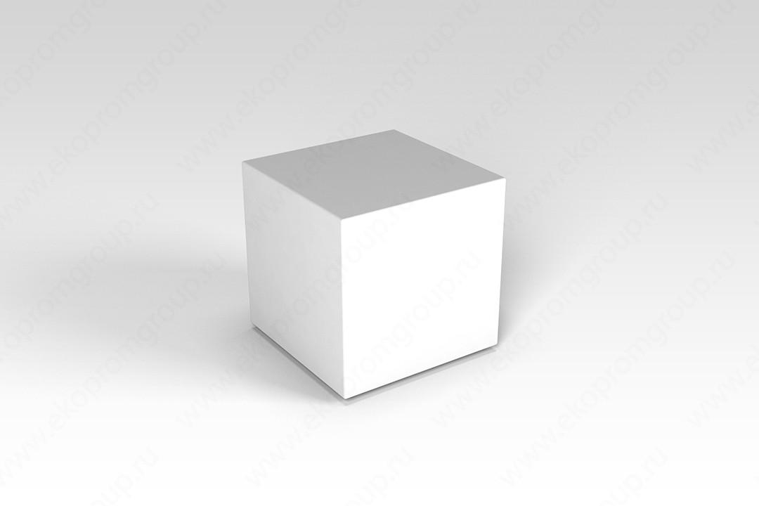 """Декоративная фигура """"Flox"""" Куб белый 385х3985х390мм"""
