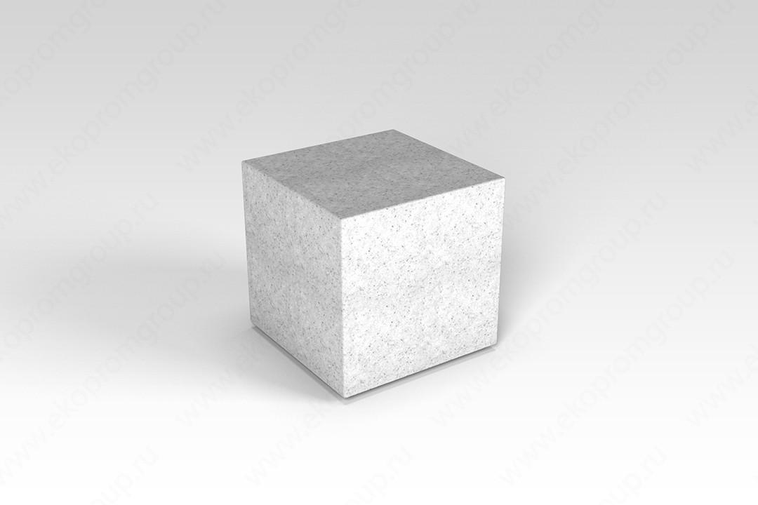 """Декоративная фигура """"Flox"""" Куб белый гранит 385х3985х390мм"""
