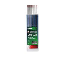 Электроды вольфрамовые WТ-20, Ø 2,4 мм, цвет красный