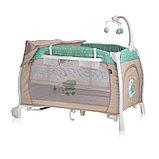 Кровать-манеж Lorelli  I'LOUNGE 2 Rocker Бежевый / BEIGE BEARS 1938, фото 3