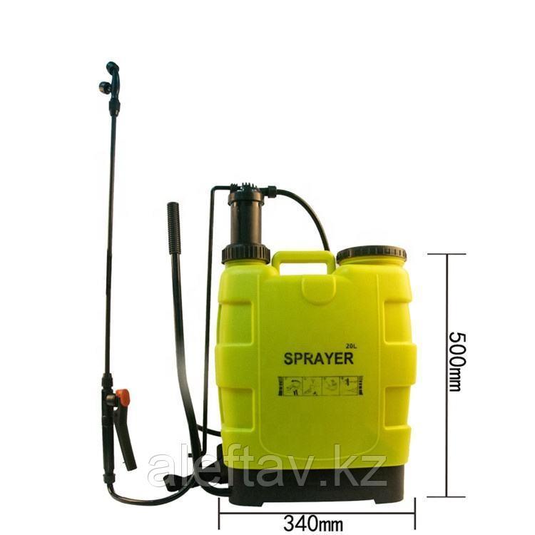 Ранцевый распылитель садовый аккумуляторный 16 литров
